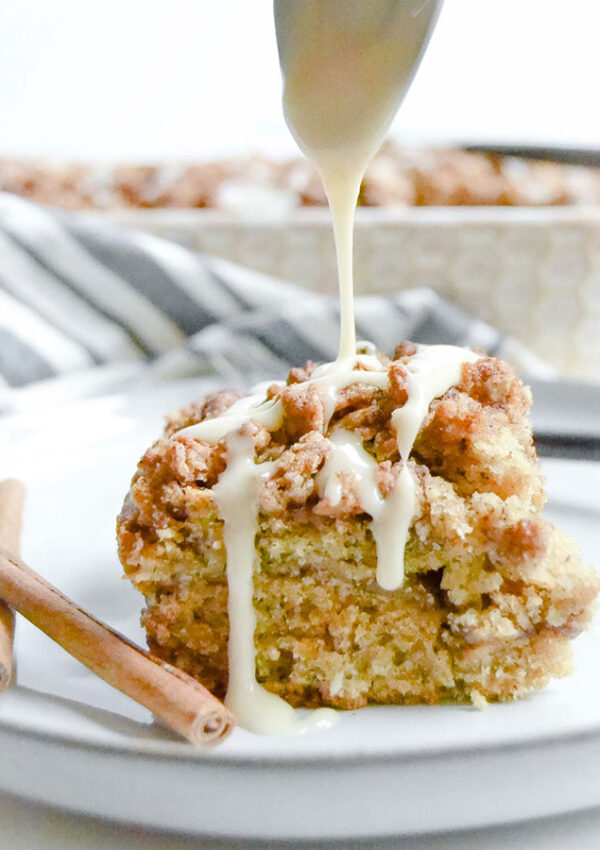 Spiced Maple Coffee Cake