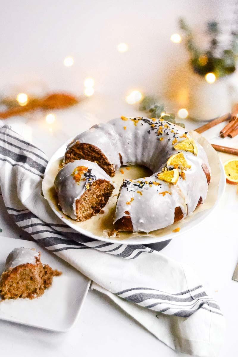 vegan Spiced Orange Bundt Cake
