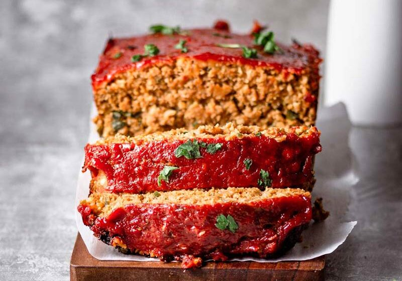 the best vegan meatloaf with beyond meat