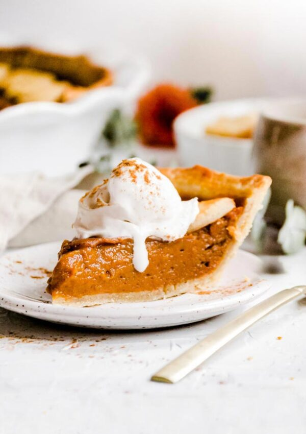 Classic Vegan Sweet Potato Pie
