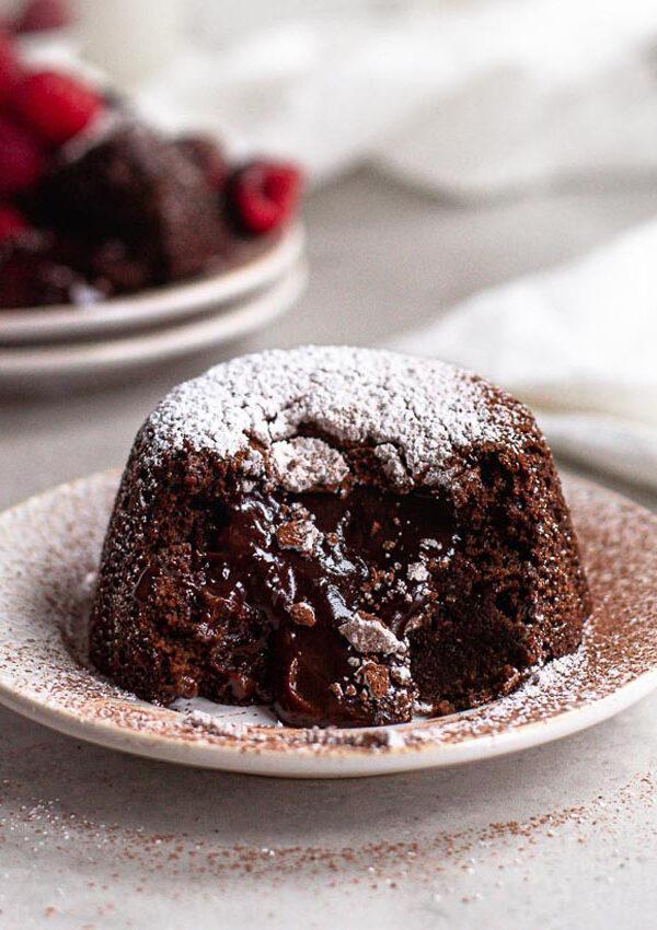 vegan lava cake index