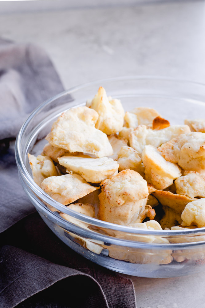 the air-fried cauliflower