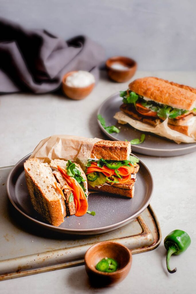 vegan bánh mì
