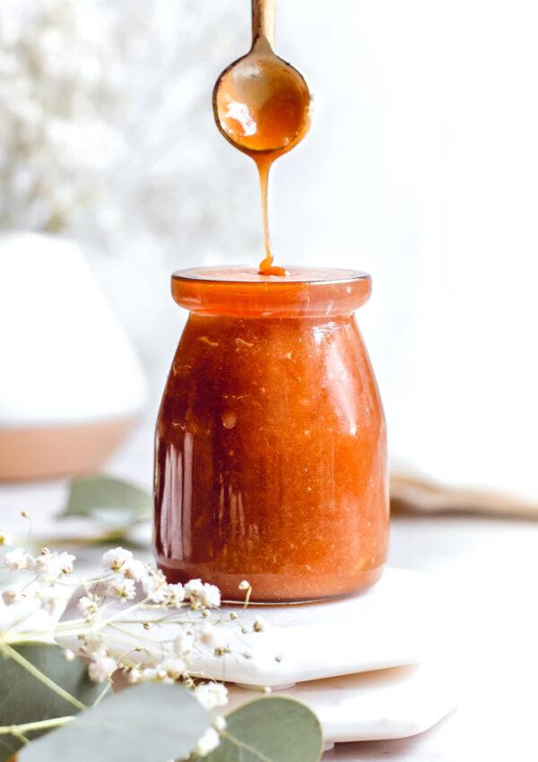 Coconut Milk Caramel Sauce (Vegan)