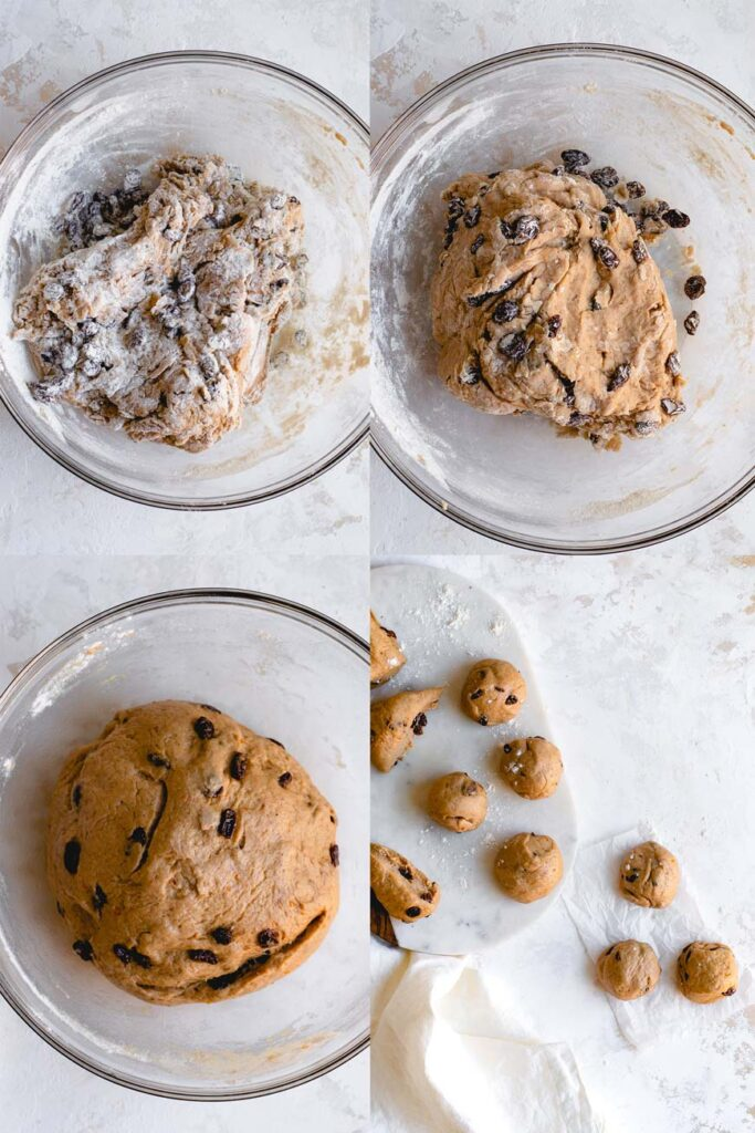 the bun dough