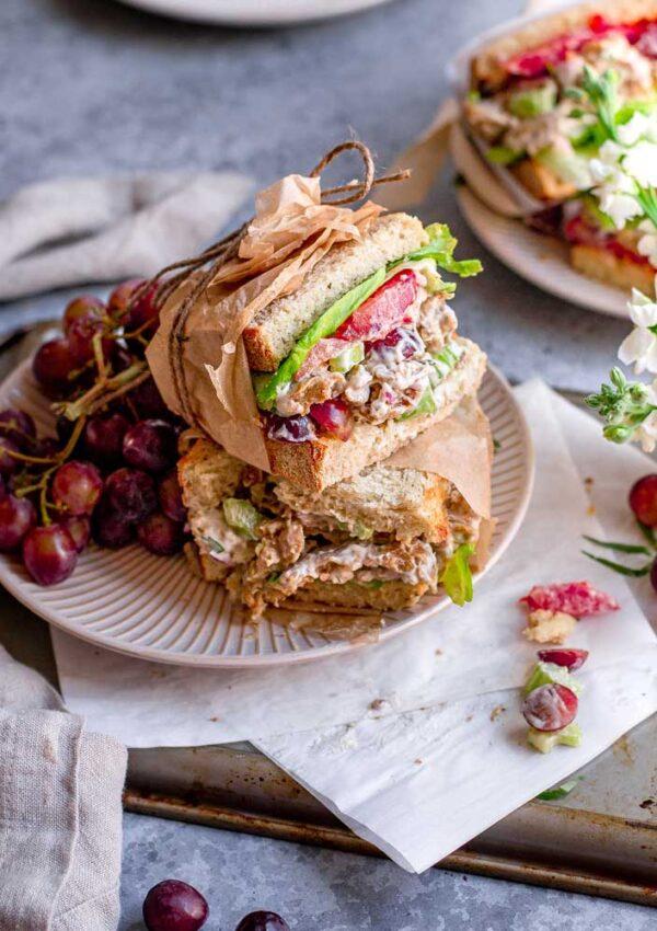 Vegan Chicken Salad (Seitan)