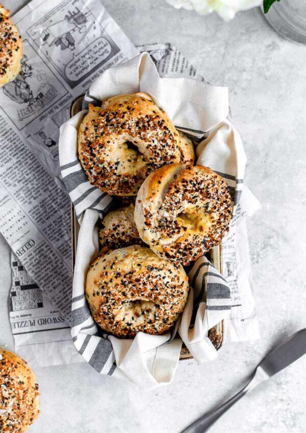 yeast free everything bagels