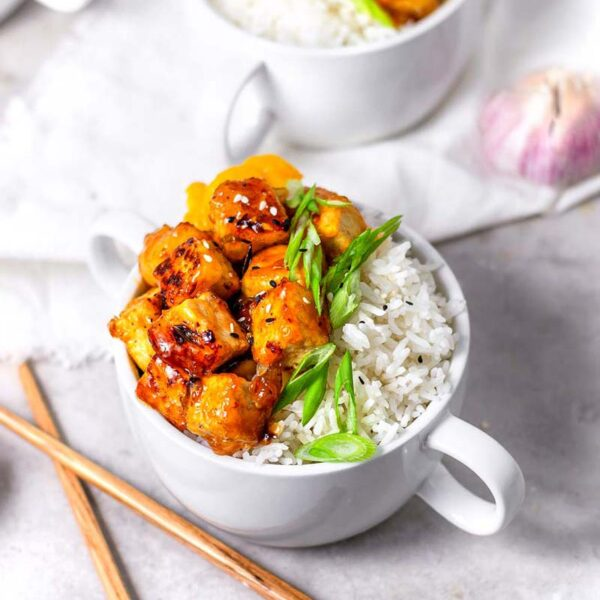 Vegan Orange 'Chicken' Tofu