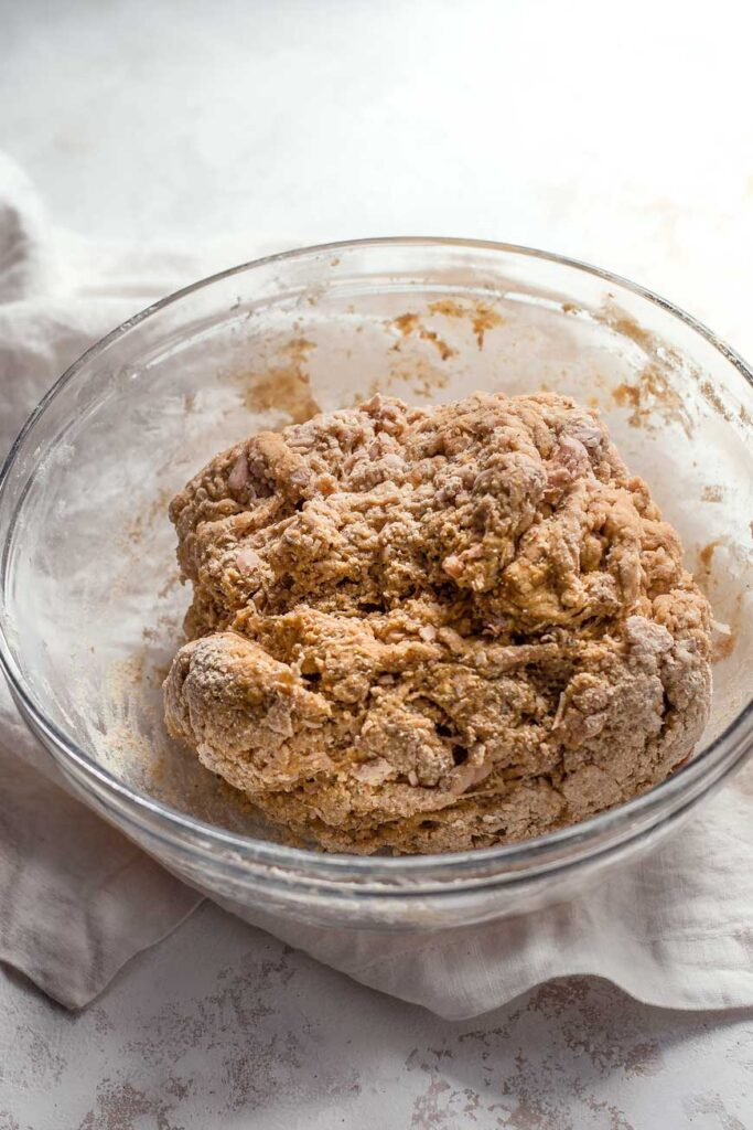 the vital wheat gluten dough