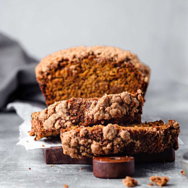 Snickerdoodle Pumpkin Bread (Vegan)