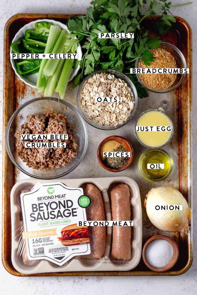 best vegan meatloaf beyond meat ingredients