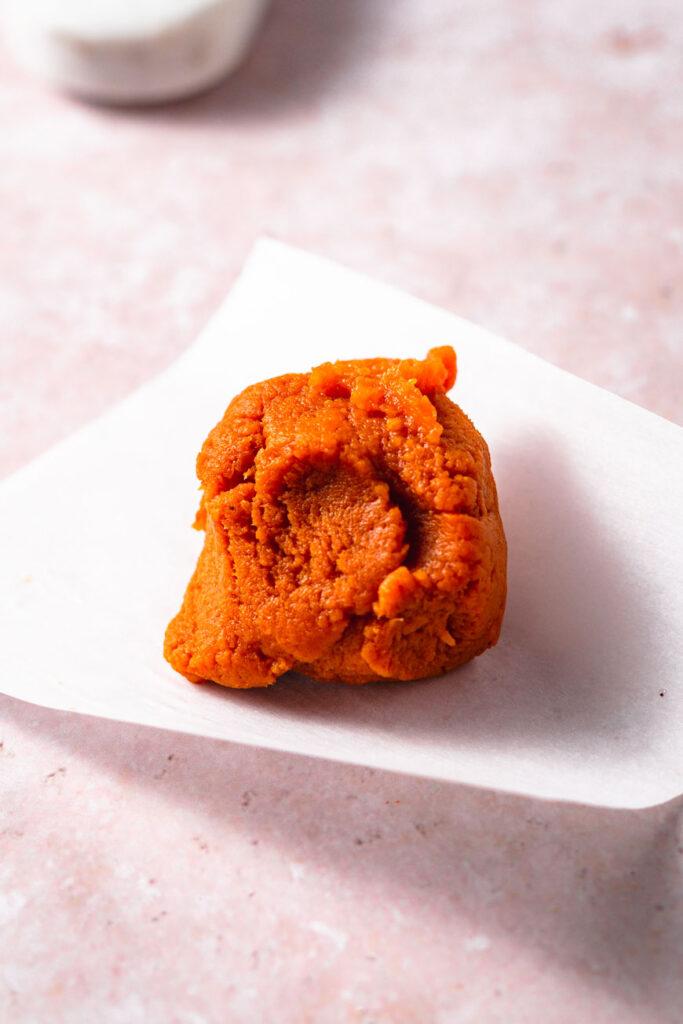 dried pumpkin puree