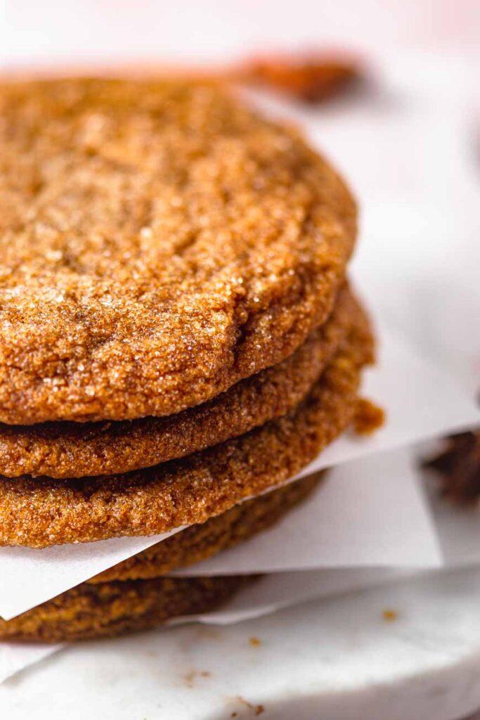 chewy pumpkin sugar cookies