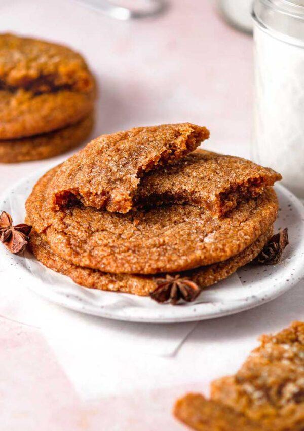 Chewy Vegan Pumpkin Cookies