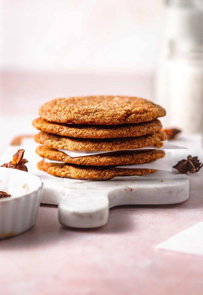 thin chewy pumpkin cookies