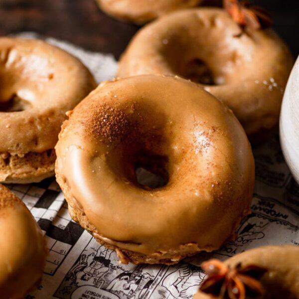 Maple Glazed Donuts (Vegan)