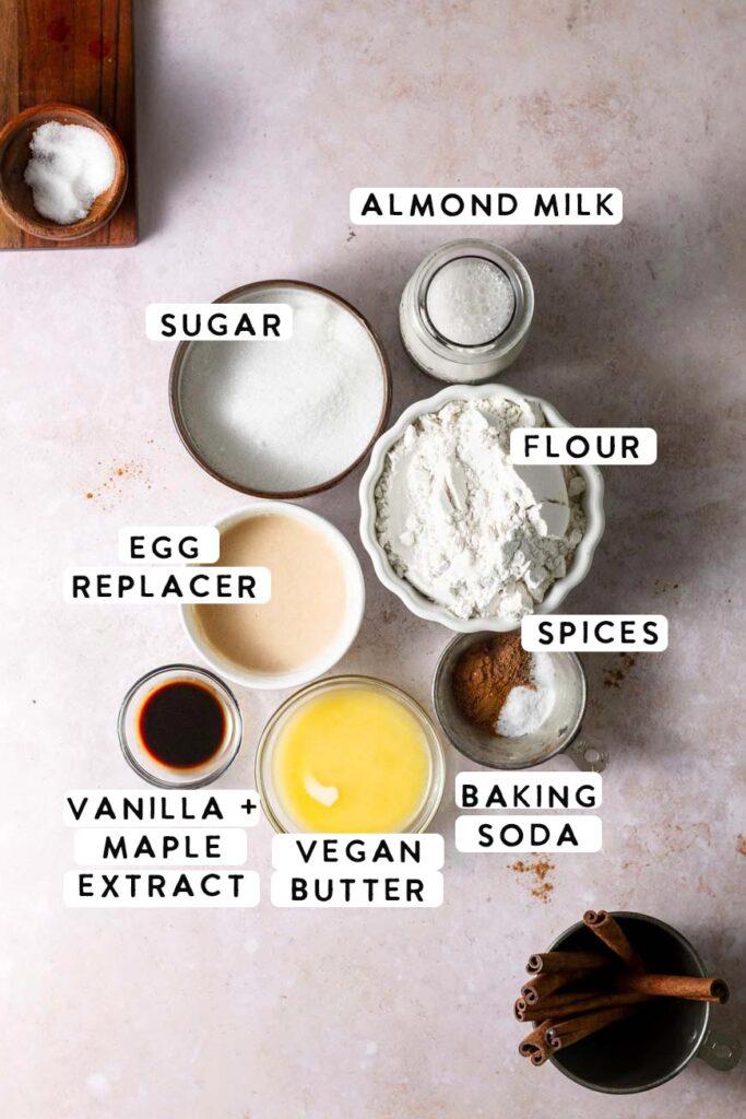 maple donut ingredients